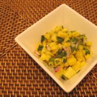 Friday Foto: Mango-Pineapple Salsa
