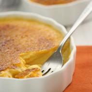Pumpkin-Bourbon Creme Brulee