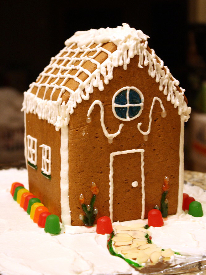 recipe gingerbread house. Black Bedroom Furniture Sets. Home Design Ideas