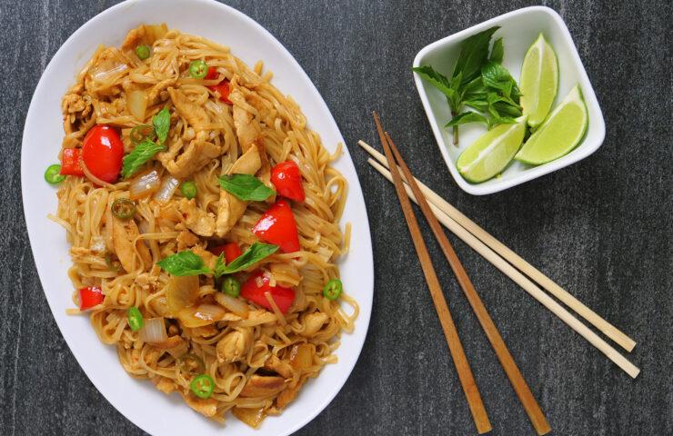 Thai-style Drunken Noodles